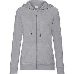 Vêtements Femme Sweats Russell Sweat à capuche HD RW6075 Gris chiné