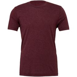 Vêtements Homme T-shirts manches courtes Bella + Canvas Triblend Bordeaux