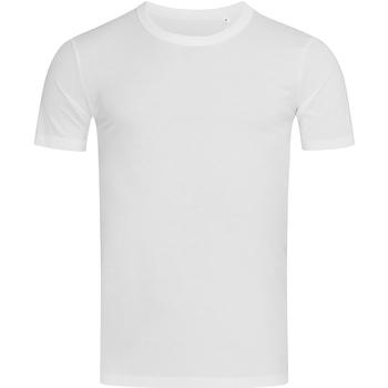 Vêtements Homme T-shirts manches courtes Stedman Stars Morgan Blanc