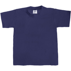 Vêtements Enfant T-shirts manches courtes B And C Exact 190 Bleu marine