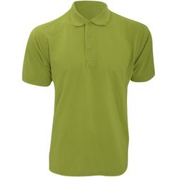 Vêtements Homme Polos manches courtes Kustom Kit Klassic Vert pomme