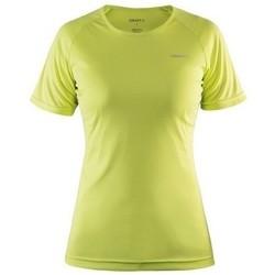 Vêtements Femme T-shirts manches courtes Craft Prime Jaune fluo
