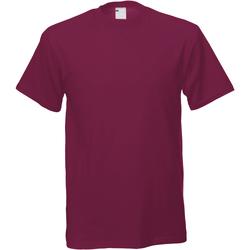 Vêtements Homme T-shirts manches courtes Universal Textiles Casual Rouge sang