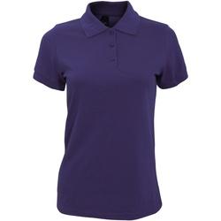 Vêtements Femme Polos manches courtes Sols Prime Violet foncé