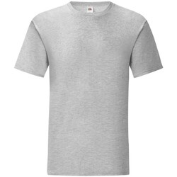 Vêtements Homme T-shirts manches courtes Fruit Of The Loom 61430 Gris clair chiné
