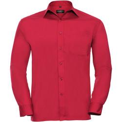 Vêtements Homme Chemises manches longues Russell 934M Rouge