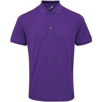 Vêtements Homme Polos manches courtes Premier PR630 Violet