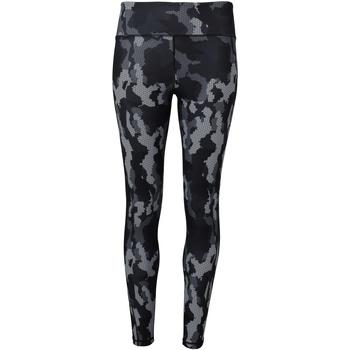 Vêtements Femme Leggings Tridri TR032 Camouflage gris
