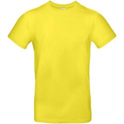 Vêtements Homme T-shirts manches courtes B And C E190 Jaune vif