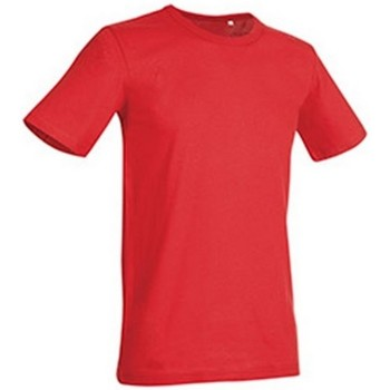 Vêtements Homme T-shirts manches courtes Stedman Stars Morgan Rouge