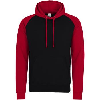 Vêtements Homme Sweats Awdis Hooded Noir / rouge