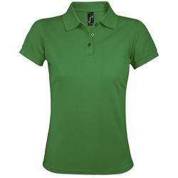 Vêtements Femme Polos manches courtes Sols Prime Vert