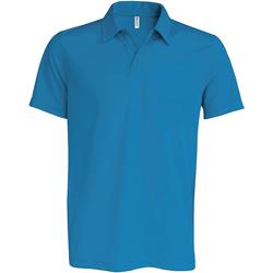 Vêtements Homme Polos manches courtes Kariban Proact Performance Bleu eau