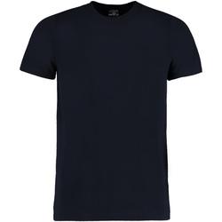 Vêtements Homme T-shirts manches courtes Kustom Kit Fashion Fit Bleu marine