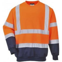 Vêtements Homme Sweats Portwest PW668 Orange / bleu marine