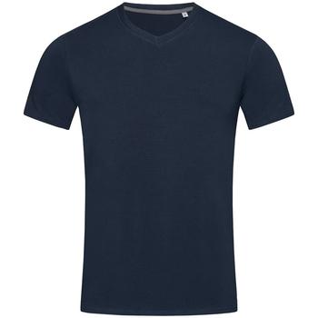 Vêtements Homme T-shirts manches courtes Stedman Stars Clive Bleu