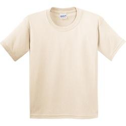 Vêtements Enfant T-shirts manches courtes Gildan 5000B Naturel