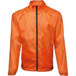 Vêtements Homme Coupes vent 2786 Contrast Orange/Noir