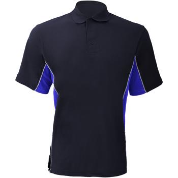 Vêtements Homme Polos manches courtes Gamegear KK475 Bleu marine/Bleu roi/Blanc