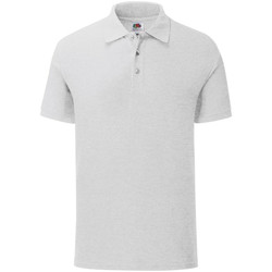 Vêtements Homme Polos manches courtes Fruit Of The Loom Iconic Blanc