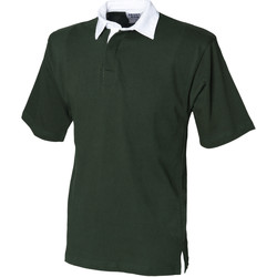 Vêtements Homme Polos manches courtes Front Row Rugby Vert bouteille