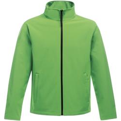 Vêtements Homme Coupes vent Regatta Softshell Vert fluo/ noir