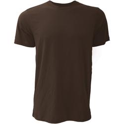Vêtements Homme T-shirts manches courtes Bella + Canvas Jersey Marron