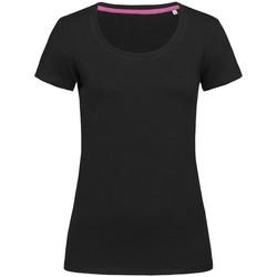 Vêtements Femme T-shirts manches courtes Stedman Stars Claire Noir