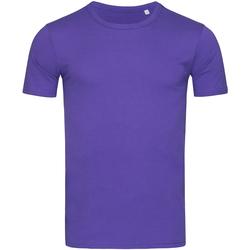 Vêtements Homme T-shirts manches courtes Stedman Stars Morgan Violet