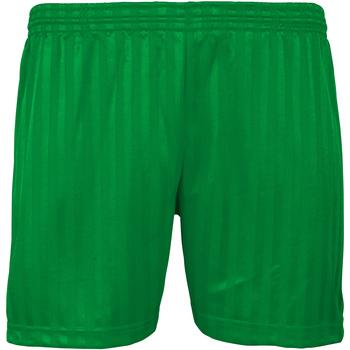 Vêtements Enfant Shorts / Bermudas Maddins Stripe Vert tendre