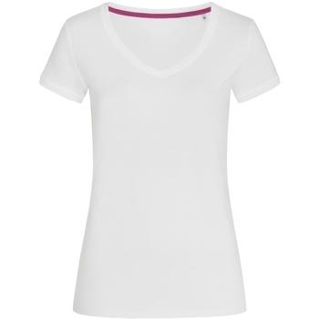 Vêtements Femme T-shirts manches courtes Stedman Stars Megan Blanc