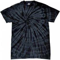 Vêtements Enfant T-shirts manches courtes Colortone Spider Noir