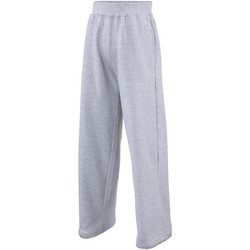 Vêtements Enfant Pantalons de survêtement Awdis JH71J Gris