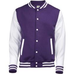 Vêtements Homme Blousons Awdis Varsity Violet/Blanc