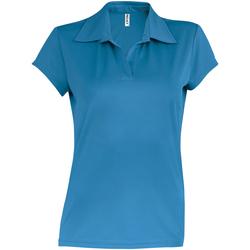 Vêtements Femme Polos manches courtes Kariban Proact Performance Bleu eau