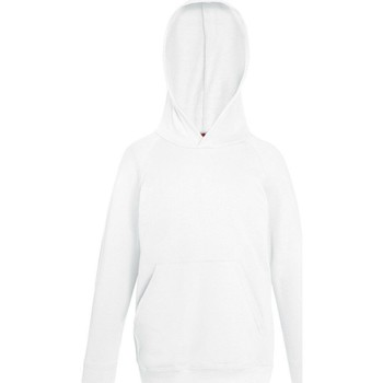 Vêtements Enfant Sweats Fruit Of The Loom Hooded Blanc