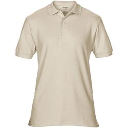 Vêtements Homme Polos manches courtes Gildan Premium Beige