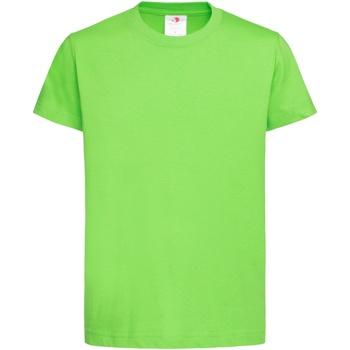 Vêtements Enfant T-shirts manches courtes Stedman Organic Vert