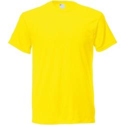 Vêtements Homme T-shirts manches courtes Universal Textiles Casual Jaune vif