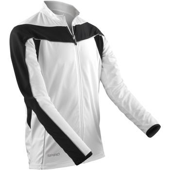 Vêtements Homme Vestes de survêtement Spiro Performance Blanc/Noir