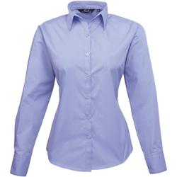 Vêtements Femme Chemises / Chemisiers Premier Poplin Bleuet