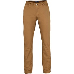 Vêtements Homme Chinos / Carrots Asquith & Fox Casual Chameau