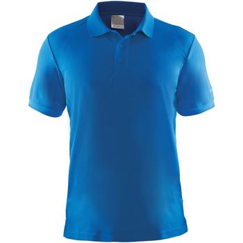 Vêtements Homme Polos manches courtes Craft Pique Bleu