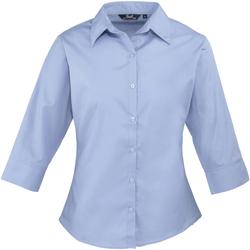 Vêtements Femme Chemises / Chemisiers Premier Poplin Bleu moyen