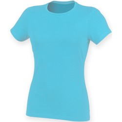 Vêtements Femme Musse & Cloud Skinni Fit Stretch Bleu surf