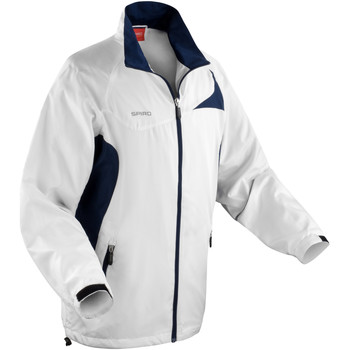Vêtements Homme Coupes vent Spiro Performance Blanc/Bleu marine