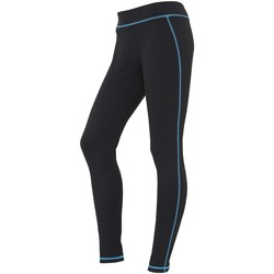 Vêtements Femme Leggings Awdis Athletic Noir/Bleu saphir