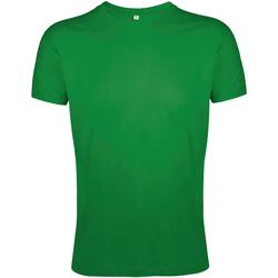 Vêtements Homme T-shirts manches courtes Sols Slim Fit Vert