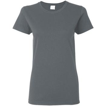 Vêtements Femme T-shirts manches courtes Gildan Missy Fit Gris foncé