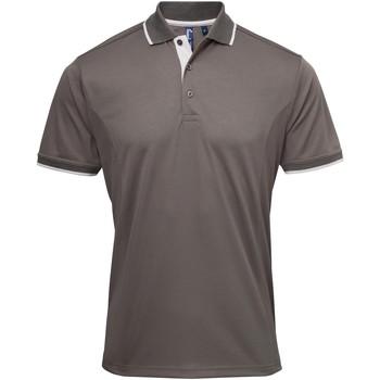 Vêtements Homme T-shirts manches courtes Premier Coolchecker Gris foncé/Argent